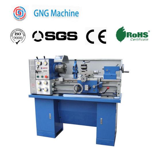 Cq6230d Gear Vertical Lathe Electric High Precision Gear Bench Lathe