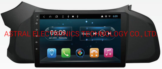 9-Inch Full-Touch Chevrolet Onix OEM Android Car GPS Navigation System with WiFi Bluetooth Mirror-Link Steering Wheel Control Backup Camera