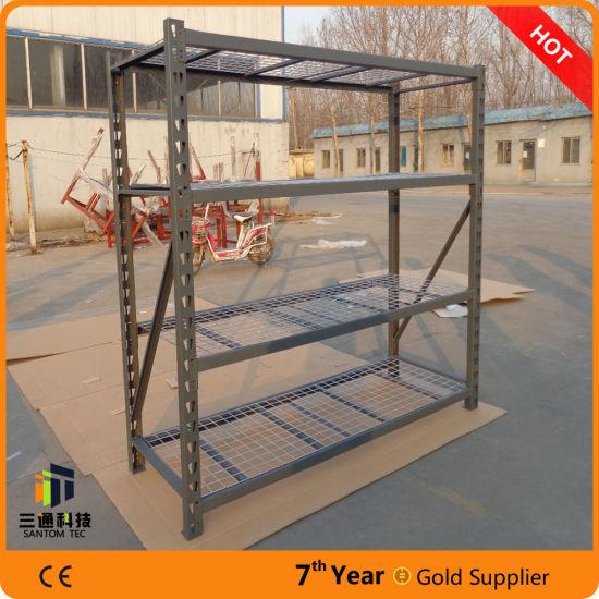 China 4 Layers Costco Storage Shelf Heavy Duty Industrial Shelf