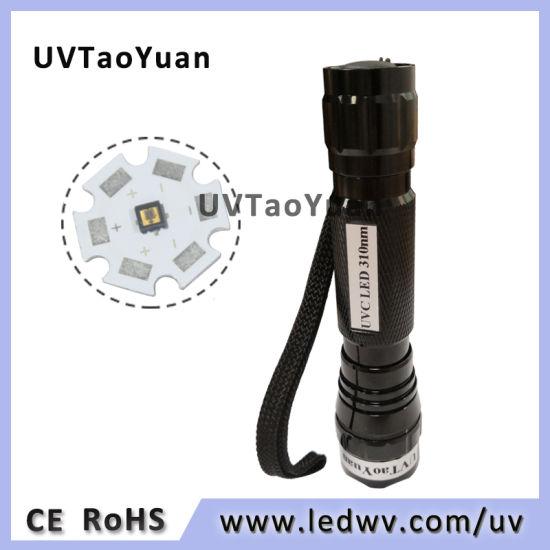 Top Power 310nm UV LED Flashlight