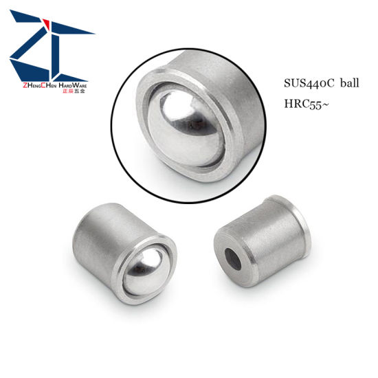 Stainless Steel 6mm Diameter 5mm Ball Press Fit Spring Plunger pictures & photos