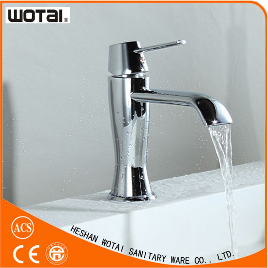 Wotai Chrom Finished Single Lever Basin Tap pictures & photos