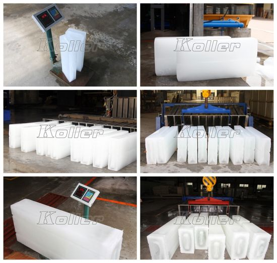 3tons Containerized Ice Block Machine with PLC Control for Sale pictures & photos