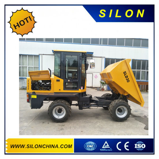 Silon Brand 3t Mini Site Truck Dumper with Best Price (SLD30) pictures & photos