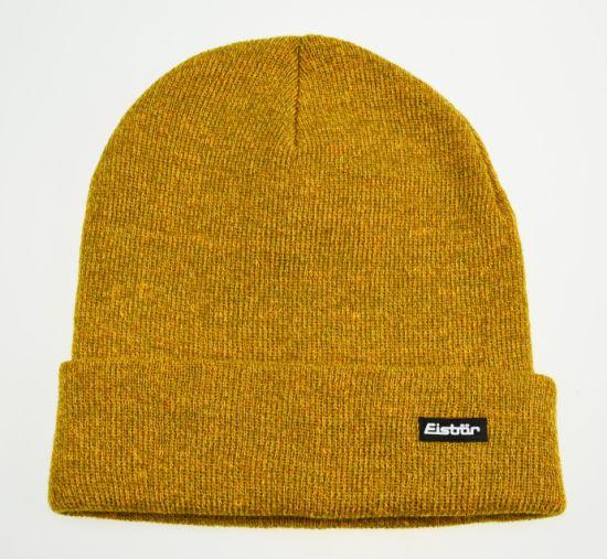 Ab Melange Colors Plain Customized Logo Acrylic Knitted Beanie Hats