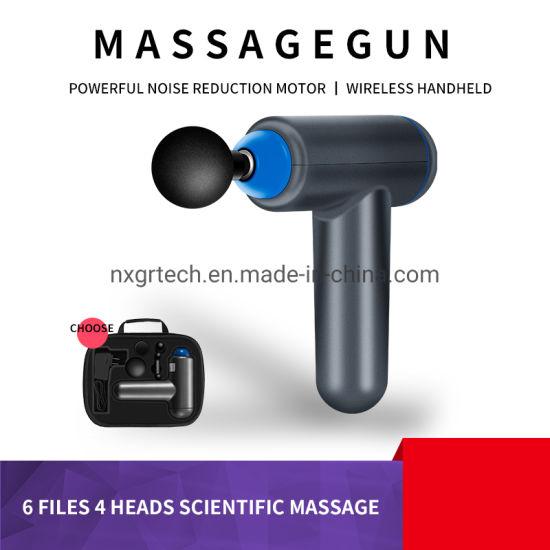 2021 Mini USB Rechargeable Fascia Gun Portable 6 Patterns Speed Massage Gun