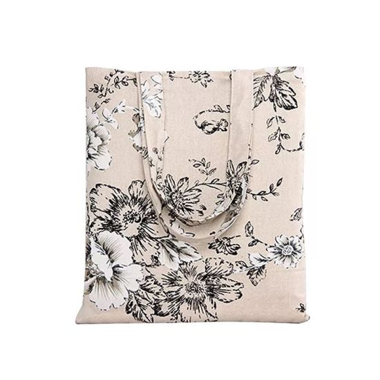 Promotional Recylable Cotton Handbags Wholesales Designer Tote Shopping Bag