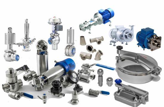 Stainless Steel Food & Beverage Industry Bsp Hygienic Valves Pipe Fittings