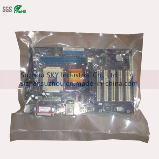 Clear Vacuum Plastic Bag for Packing Electronic Parts