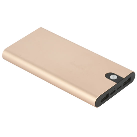 Portable 10000mAh Mobile Power Bank USB Battery Charger Dual Port 10W pictures & photos