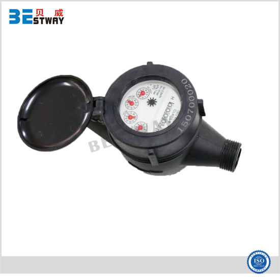 Factory Supply ISO4064 Multi Jet Dry Dial Plastic Water Meter