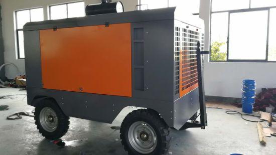 Industrial Blue Color Big High Quality Portable Air Compressor