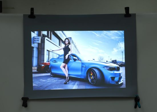 1.52*30m Rear Projection Film Self Adhesive Glass for Advertising
