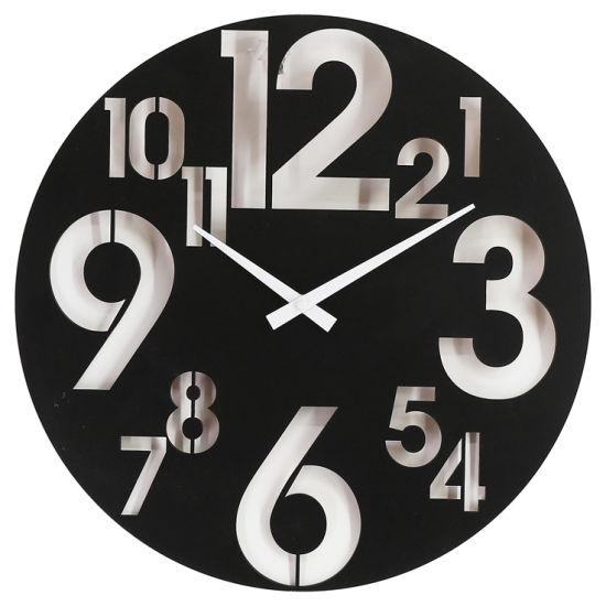 MDF Wall Clock Middle East 3D Sense of Design (EA19349)