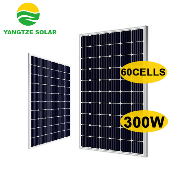 Yangtze Solar 60 Cells Solar Panel 300W 310W 320W 330W with 25 Years Warranty