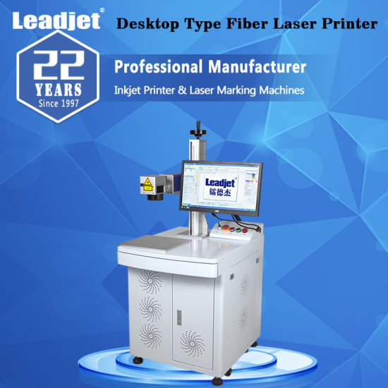 Touch Screen Control System Fiber Laser Marking Machine