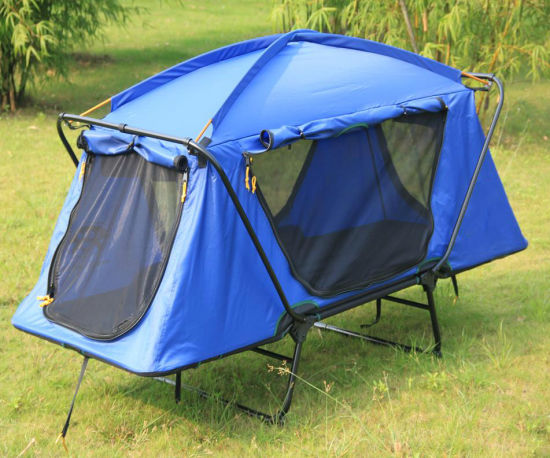 Tent off Ground Tent Above Ground Waterproof C&ing Bed Tent C&ing Bed Tent Tent Cots & China Tent off Ground Tent Above Ground Waterproof Camping Bed ...