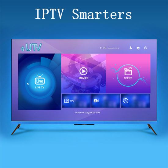 China Hot Sell 12 Months Eutv M3u Xtream Codes Stalker Full Hd Panel Control Iptv Smarters China Iptv Smarters Iptv