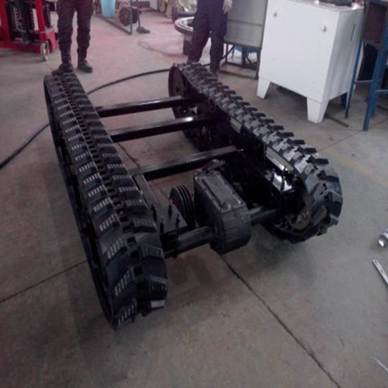 Track Chassis 2500*1500*400 for Construction Machine pictures & photos