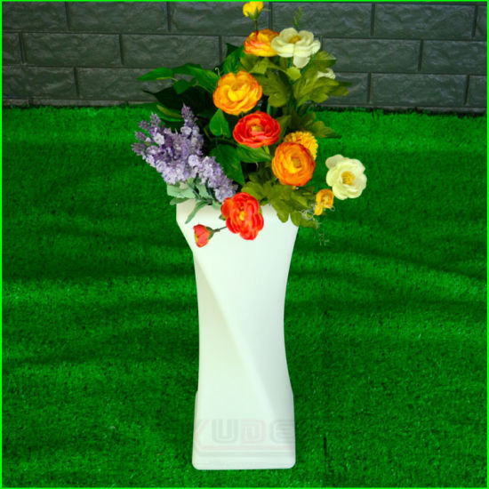 China Glowing Flower Vase Decoration Ideas Single Flower Vase ... on single flower bouquet ideas, black flower vase ideas, flower vase design ideas, single rose bouquet ideas, single flower girl ideas, single fruit plate ideas, single hat rack ideas, flower arrangement ideas, bridal shower flower centerpiece ideas, old flower vase ideas, single flower vase clipart, single flower with stem,