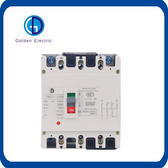 2pole DC MCCB Adjustable Moulded Case Circuit Breaker