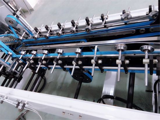 Automatic Packing Folder Gluer for Lock Bottom Box Making (GK-650CB) pictures & photos