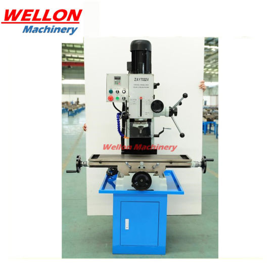 Variable Speed Drilling & Milling Machine (Bench Milling Machine ZAY7032V ZAY7040V ZAY7045V)