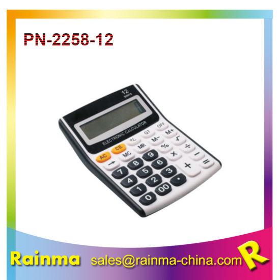 12 Digits Desktop Calculator for Office Supply