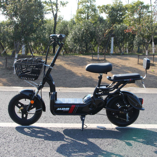 Cheap Electric Moped Scooter with Pedals
