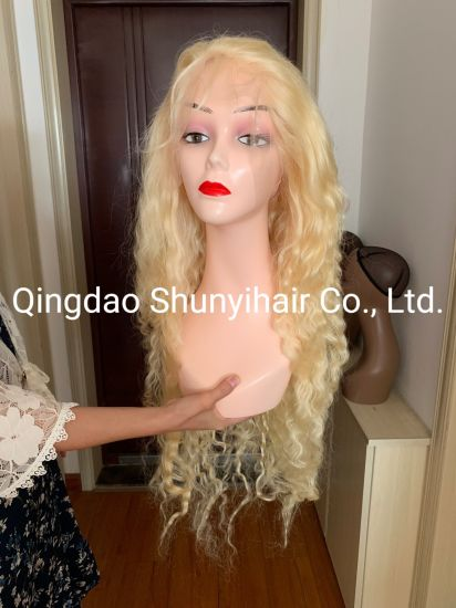 Wholesale 613 30 Inch Full Lace Wig Human Hair 130% 150% Density Virgin Brazilian Deep Wave 613# Full Lace Wig Pictures & Photos Wholesale 613 Full Lace Wig