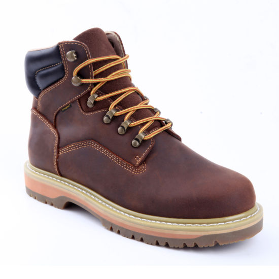 S3 Standard Middle Ankle PU Injection Sole Safety Shoe Working Shoe PU Injected Shoe Metal Free Shoes