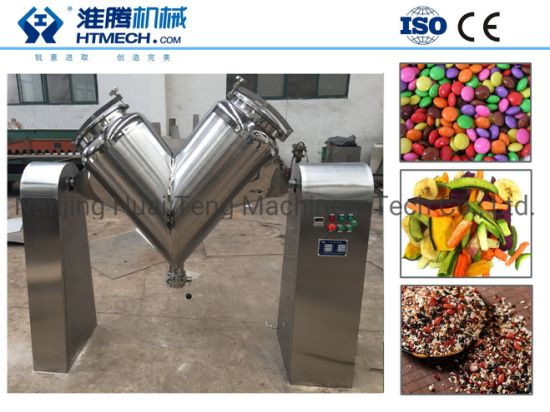 Factory Directly Sale V Type Customized Mixing Mixer Machine for Dryig Powder