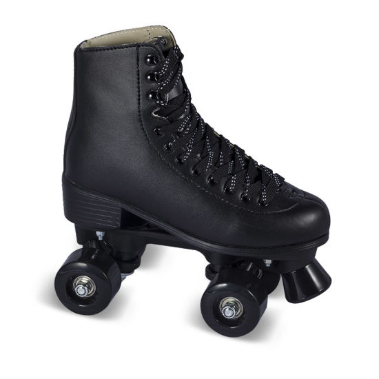 Soft Boot Quad Roller Skate for Adults (QS-44) pictures & photos