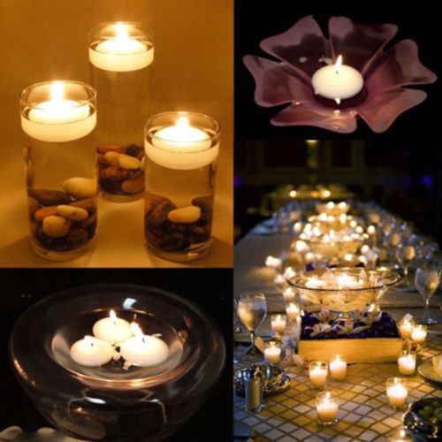 Floating Mini Candles Waterproof Paraffin Wax Wedding Party Bar Home Decor pictures & photos