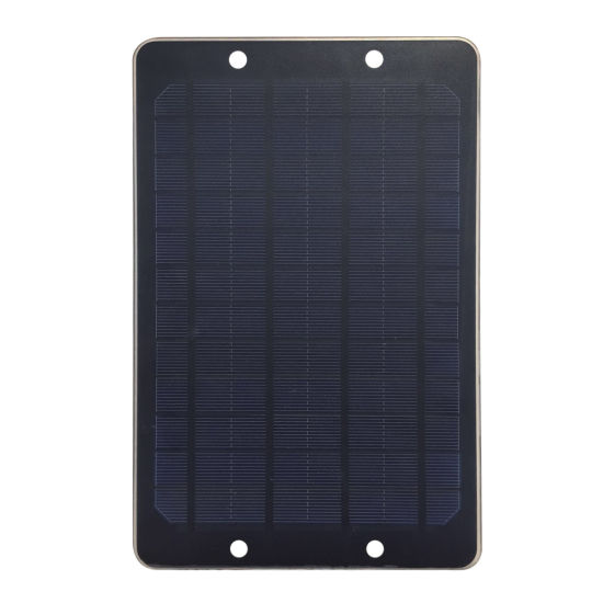 6W Solar Panel DC USB Portable Mobile Phone iPhone iPad Computer Battery Solar Charger Original pictures & photos