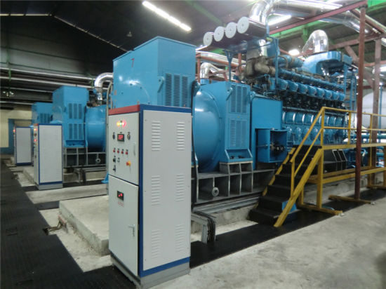 China 4MW Black Start Diesel Generator for Power Plant - China High Voltage  Generator, Black Start up Generator