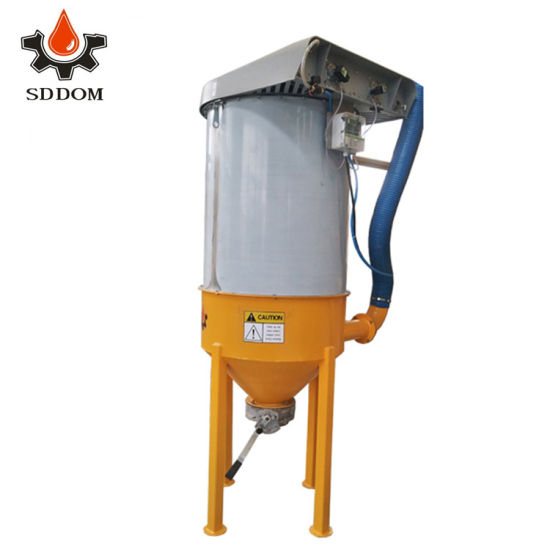 Different Powder Concrete Collecting Silo Top or Portable Dust Collector with Fan or Collecting Hopper