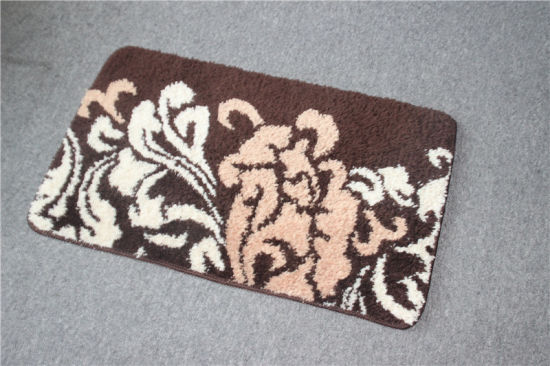 Low MOQ High Quality Microfiber Non-Slip Custom Bath Floor Mat pictures & photos