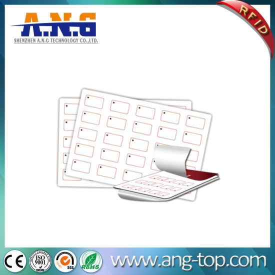 13.56MHz Passive RFID Inlay Custom Plastic Sheet with IC Chip pictures & photos
