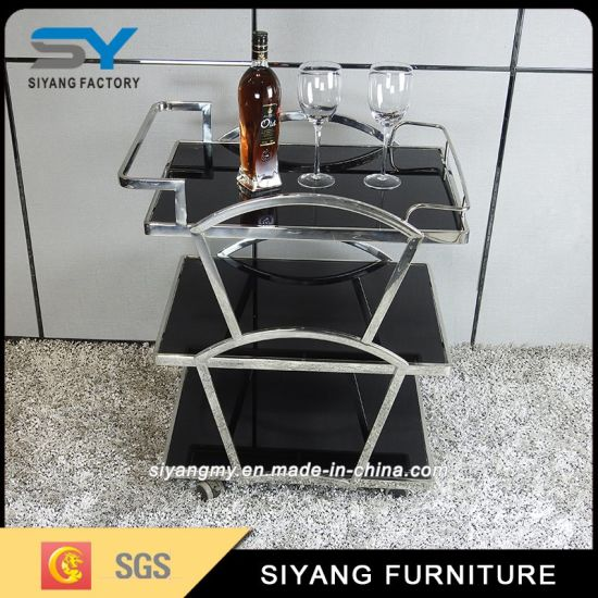 Pleasant China Handmade Commercial Stainless Steel Three Tier Trolley Beutiful Home Inspiration Cosmmahrainfo