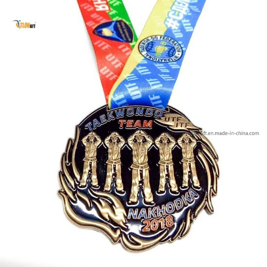 High Quality Metal Archery Award Custom Hanging Production Marathon Games Medal for Honor
