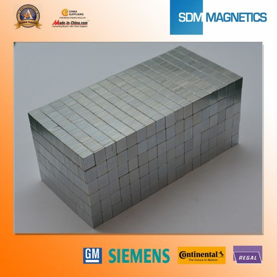 14 Years Experience Customized High Quality Permanent Neodymium Block Magnet pictures & photos