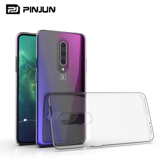 Ultra Thin Crystal Clear TPU Phone Case for Oneplus 7 pictures & photos