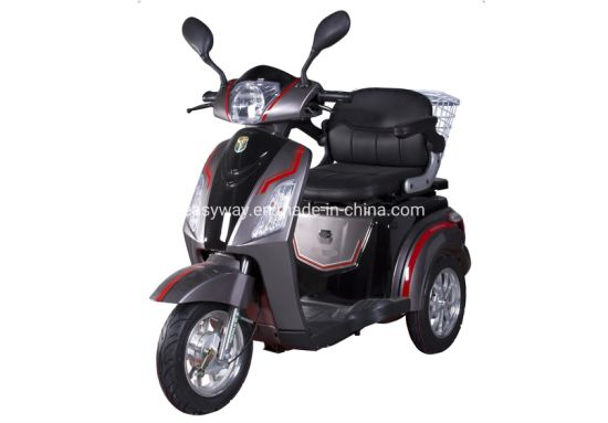 EEC Approved 3 Wheel Adult Electric Tricycle with 1000W Motor