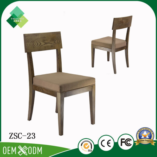 Neo Classicalism Style Solid Wood Dining Chair China Suppliers Zsc 23
