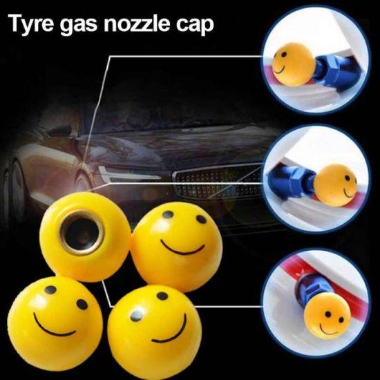 FOUR PLASTIC OEM TYRE GOOD QUALITY WHEEL AIR VALVE DUST CAPS Screw Fit