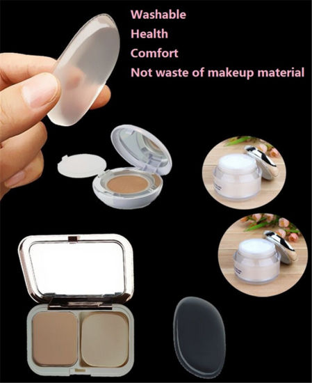 Silicone Makeup Puff Washable Silicone for Makeup pictures & photos
