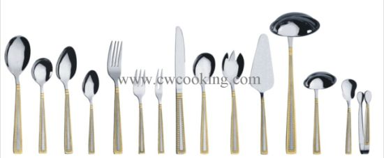12PCS/24PCS/72PCS/84PCS/86PCS Mirror Polished High Class Stainless Steel Cutlery Tableware (CW-CYD823) pictures & photos