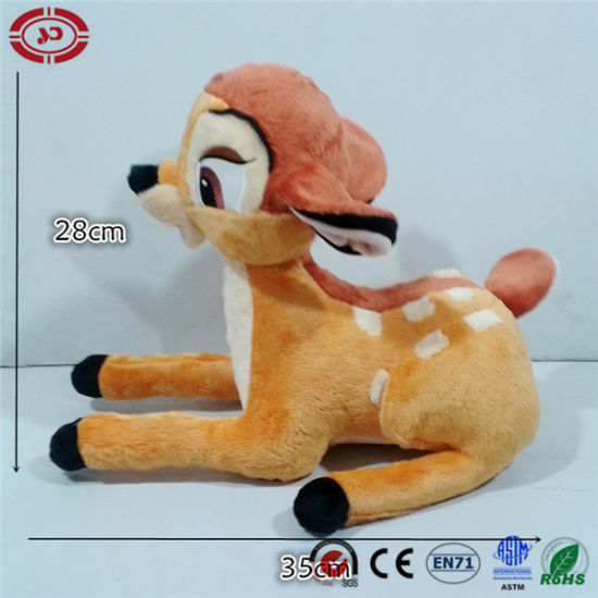 Cute Quality Banbi Sittting Deer Cartoon Kids Lovely Gift Toy