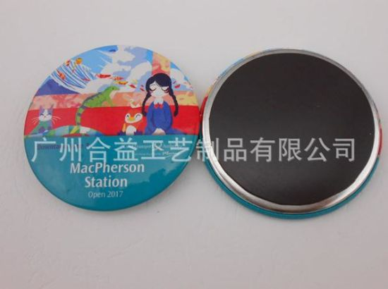 Cute Words Tin Badge Custom Different Sizes Button (HY-MKT-0049) pictures & photos
